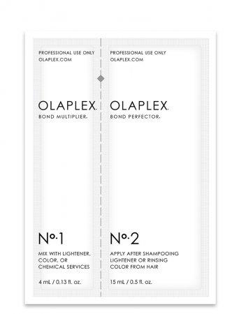 Olaplex Single-Use No. 1-2, dwuetapowy system dla profesjonalistów, 4ml + 15ml