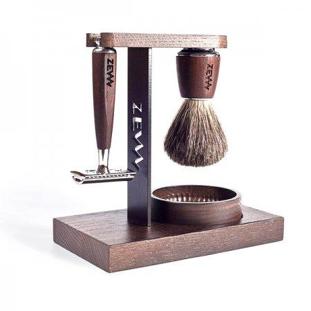Zestaw Wet Shaving Set, ZEW for Men - uszkodzone opakowanie