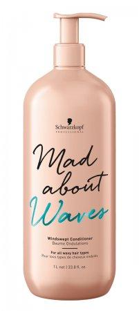 Schwarzkopf Mad About Waves, odżywka efekt potarganych włosów, 1000ml