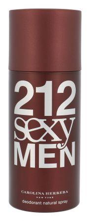 Carolina Herrera 212 Sexy Men, dezodorant, 150ml (M)