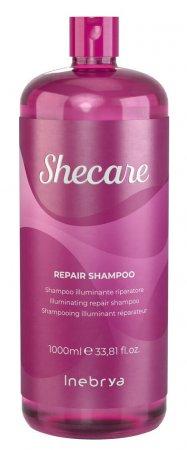 Inebrya Shecare Repair, regenerujący szampon nadający połysk, 1000ml