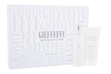 Gianfranco Ferré Gieffeffe Bianco Assoluto, zestaw: Edt 100 ml + Żel pod prysznic 100 ml (U)