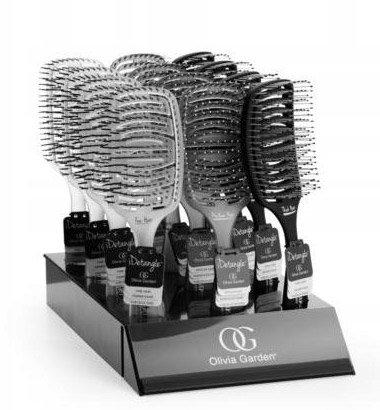 Olivia Garden, zestaw szczotek iDetangle, display 12szt