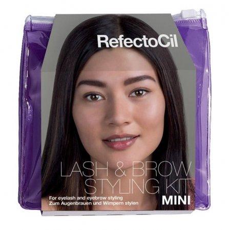 RefectoCil Mini Starter Kit, zestaw startowy do koloryzacji brwi i rzęs