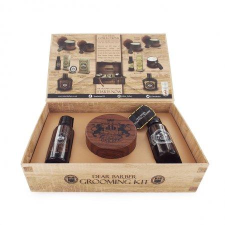 Dear Barber zestaw: szampon 50ml, tonik 30ml, krem do stylizacji 100ml
