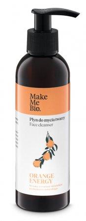 Make Me Bio Orange Energy, płyn do mycia twarzy, 200ml
