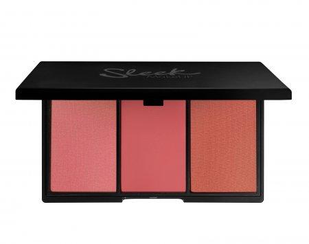 Sleek Makeup Blush By3, paleta róży do policzków Pink Lemonade, 20g