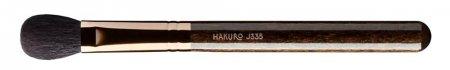 Hakuro J335, pędzel do cieni i konturowania, ciemnobrązowy