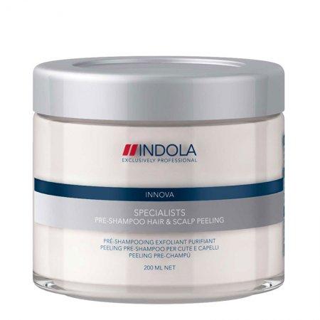 Indola Specialists, peeling skóry głowy przed myciem szamponem, 200ml