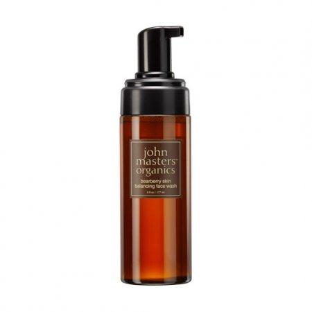 John Masters Organics, regulujący żel do mycia twarzy z mącznicy lekarskiej, 177ml