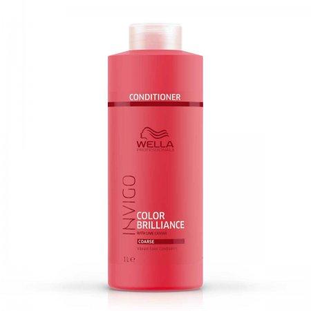 Wella Invigo Color Brilliance, odżywka do włosów farbowanych, grubych, 1000ml