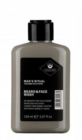 Dear Beard Man`s Ritual, szampon do mycia brody i twarzy, 150ml