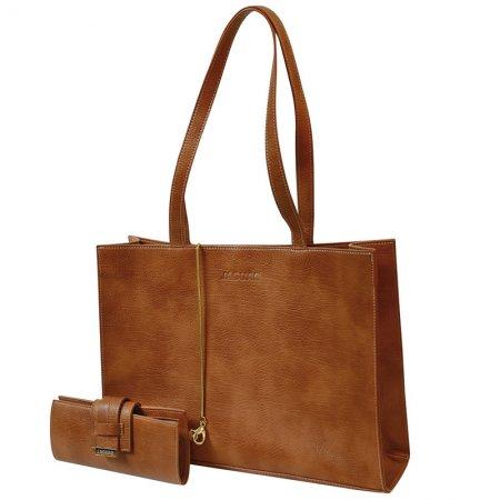 Jaguar Style Bag, skórzana torba z przybornikiem