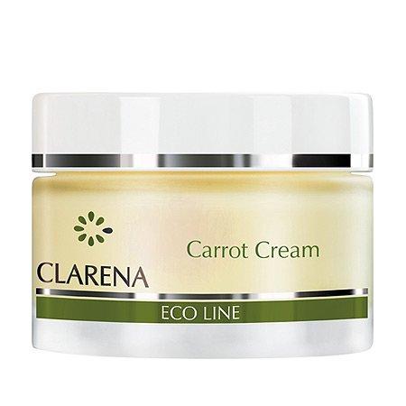 Clarena Eco Line, krem z marchewką wyrównujący koloryt, 50ml