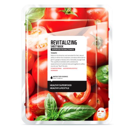 Superfood for Skin, maseczka rewitalizująca, pomidor