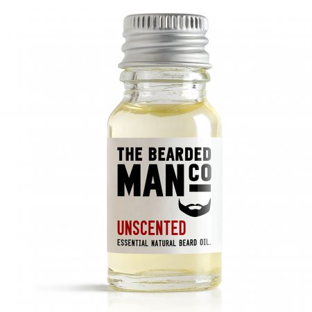 Bearded Man Unscented, olejek do brody Bezzapachowy, 10ml