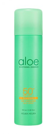 Holika Holika Aloe Ice Cooling Sun spray, spray przeciwsłoneczny SPF 50+, 100ml