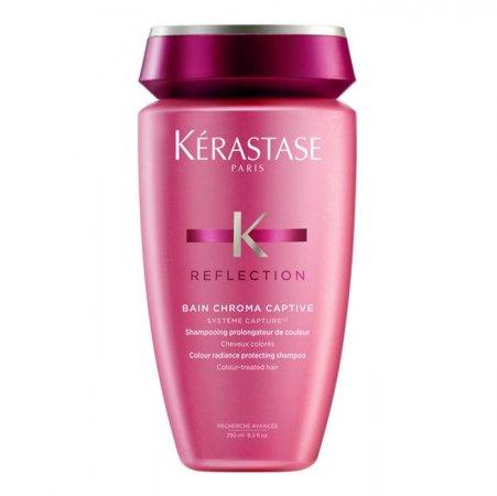 Kerastase Reflection Bain Chroma Captive, kąpiel rozświetlająca, chroniąca kolor włosów farbowanych, 250ml