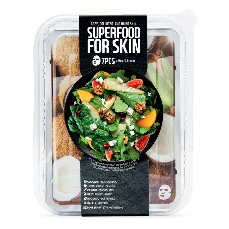 Superfood for Skin, zestaw maseczek energetyzująco-oczyszczający