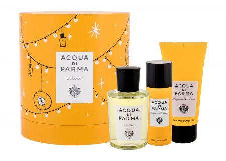Acqua di Parma Colonia, zestaw: Edc 100 ml + Żel pod prysznic 75 ml + Dezodorant 50 ml (U)
