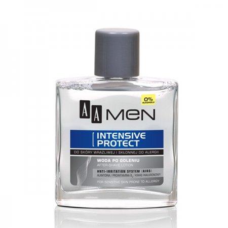AA Men Intensive, łagodząca woda po goleniu 100 ml