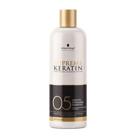 Schwarzkopf Supreme Keratin #05, szampon po keratynowym prostowaniu, 300ml