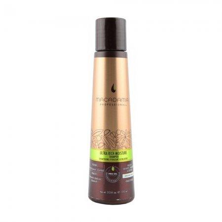 Macadamia Professional Ultra Rich, nawilżający szampon do włosów bardzo grubych, 100ml