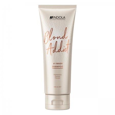 Indola Blond Addict, szampon do włosów blond, 250ml