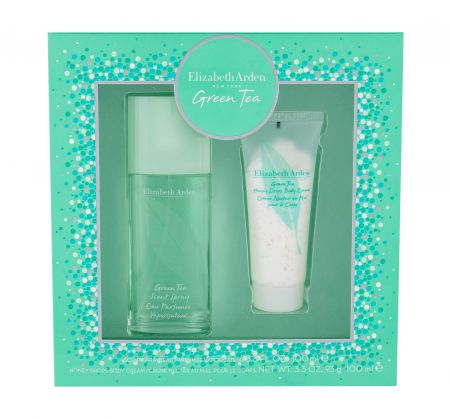 Elizabeth Arden Green Tea, zestaw: EDP 100ml + 100m krem Honey Drops (W)