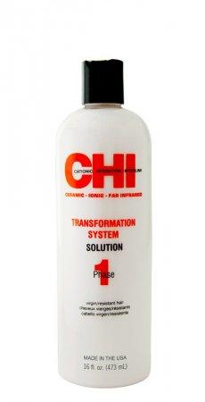 CHI Transformation Bonder-Phase 1, trwałe prostowanie włosów grubych i opornych, naturalnych, 473ml