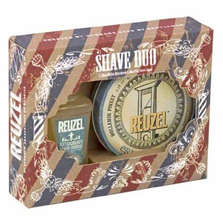 Reuzel Shave Duo, zestaw krem do golenia + płyn po goleniu