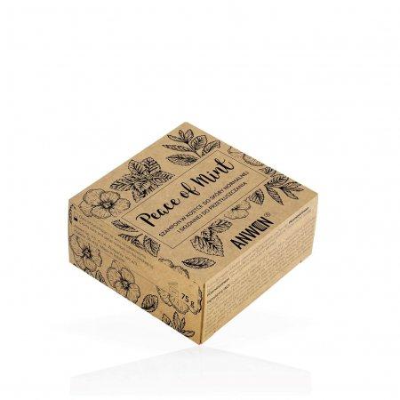 Anwen Peace of Mint, szampon w kostce, 75g
