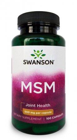Swanson, MSM, 100 kapsułek