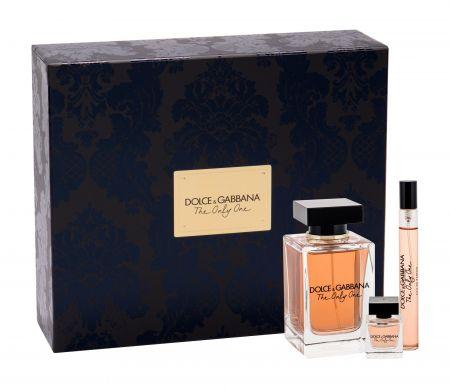 Dolce&Gabbana The Only One, zestaw: EDP 100 ml + EDP 10 ml + EDP 7,5 ml (W)