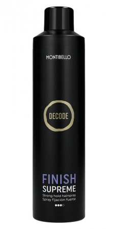 Montibello Decode, mocny lakier utrwalający Finish Supreme, 400ml