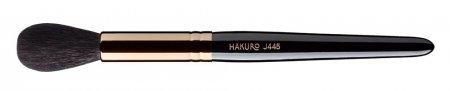 Hakuro J445 pędzel do różu, bronzera lub rozświetlacza, czarny
