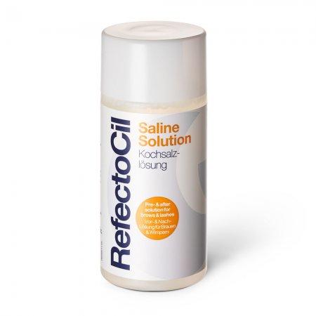 RefectoCil Saline Solition, płyn oczyszczający do rzęs i powiek, 150ml