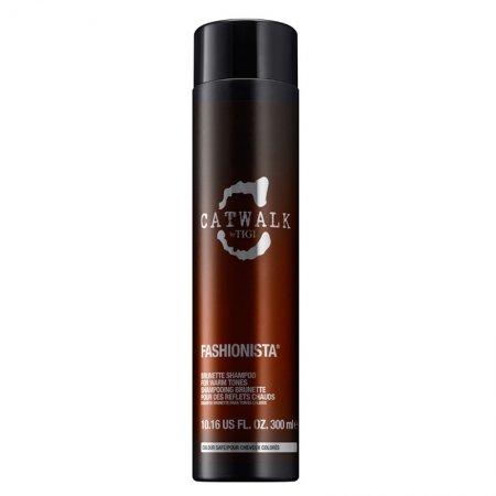 Tigi Catwalk Fashionista, szampon do ciepłych odcieni brązów, 300ml