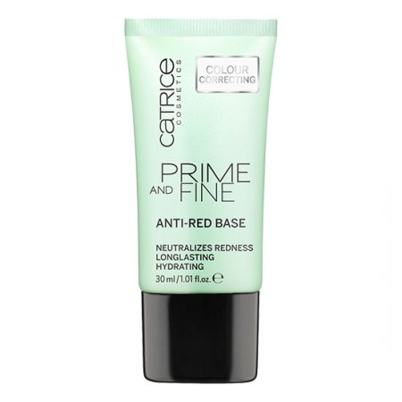 Catrice Prime and Fine, baza neutralizująca zaczerwienienia, 30ml
