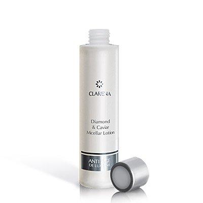 Clarena Anti Age De Lux Line, tonik micelarny do twarzy, z diamentem i kawiorem, 200ml