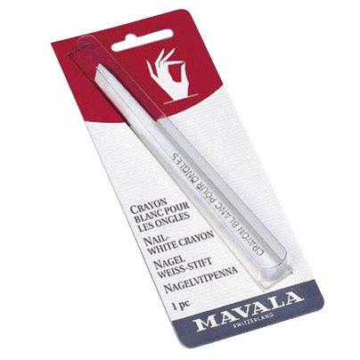 Mavala, kredka do paznokci, kolor biały, efekt french manicure