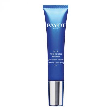Payot Blue Techni Liss, wygładzająco-przeciwzmarszczkowy żel-krem na okolicę oka, 15ml