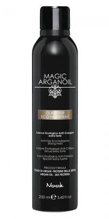 Nook Magic Arganoil, lakier do włosów Glamour, 250ml