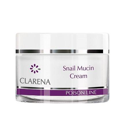 Clarena Poison Line, regenerujący krem ze śluzem ślimaka, 50ml