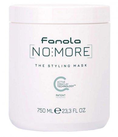 Fanola No more, wegańska maska do włosów zniszczonych, 750ml