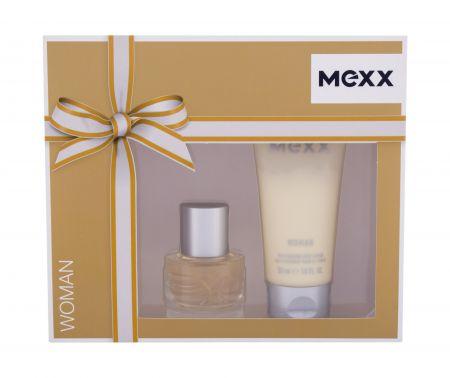 Mexx Woman, zestaw: Edt 20 ml + Mleczko do ciała 50 ml (W)