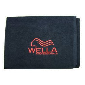 Wella Professionals, profesjonalny ręcznik do koloryzacji, 100% bawełny, czarny