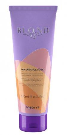 Inebrya Blondesse No Orange, maska do włosów, 250ml