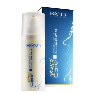Bandi Young Care, krem matujący z SPF18, 50ml