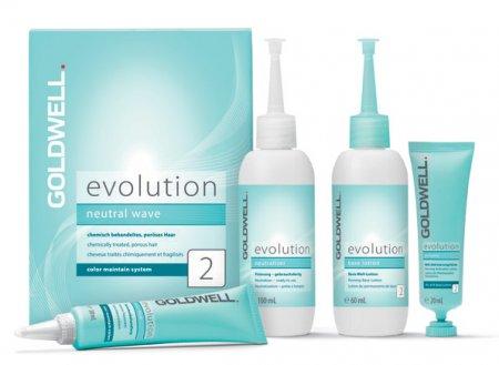 Goldwell Evolution, typ 2, zestaw do trwałej, włosy farbowane lub pasemka do 50%